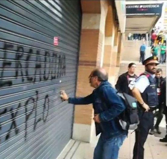 Mossos vergonya inacció vaga