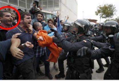 Mossos vergonya Miquel Àngel Cherino