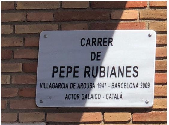 Pepe Rubianes calle