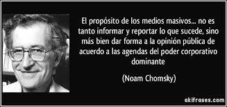 Medios de comunicación Noam Chomky 2