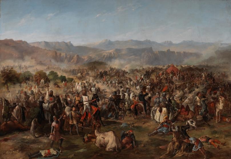 Batalla de las Navas de Tolosa - Francisco de Paula Van Halen - 1864