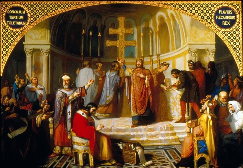 Concilio III de Toledo - José Martí y Monsó - 1862