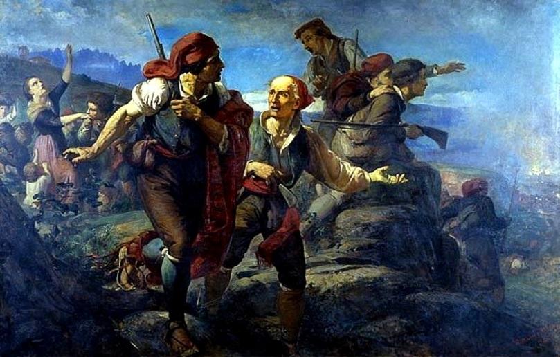 El sometent del Bruc - Ramon Martí i Alsina - 1860