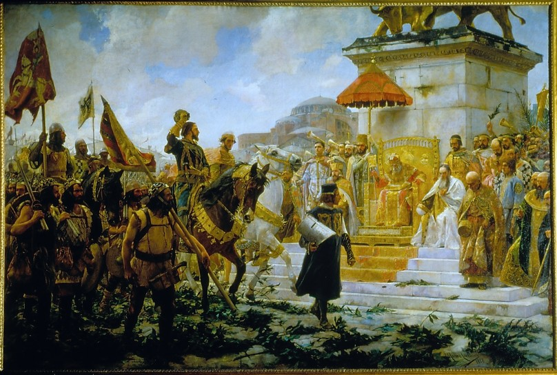 Entrada de Roger de Flor en Constantinopla - José Moreno Carbonero - 1888