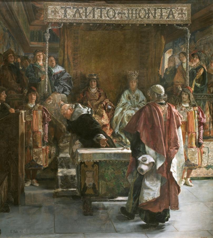 Expulsión de los judíos de España (año de 1492) - Emilio Sala Francés - 1889