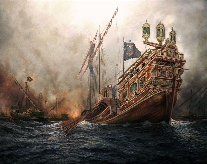 Ferre Clauzel - Batalla de Lepanto - Galera La Real 1571