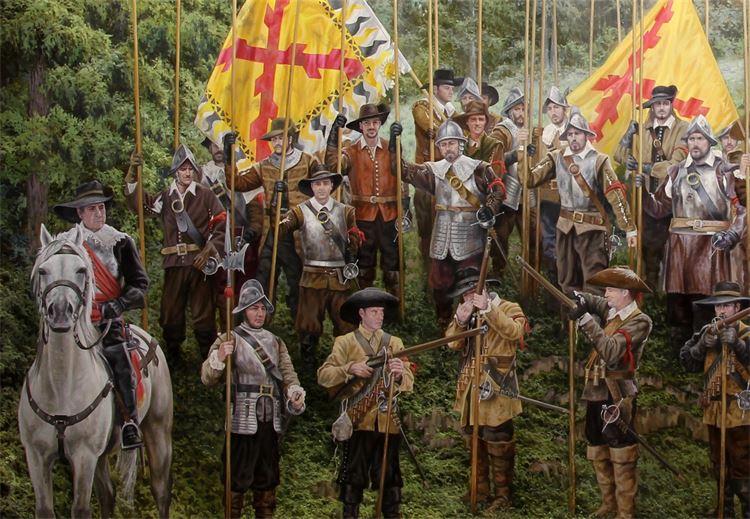Ferre Clauzel - Batalla de Nordlingen - detalle