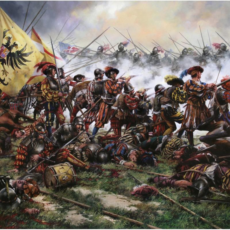 Ferrer Dalmau - Batalla de Pavía
