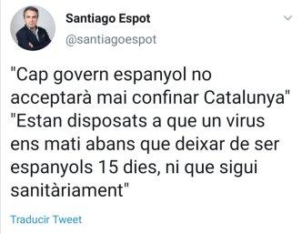Twitter Espot coronavirus